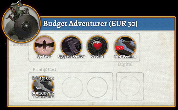 Budget Adventurer Rewards (30 EUR)