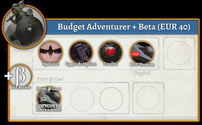 Budget Adventurer + Beta Rewards (40 EUR)