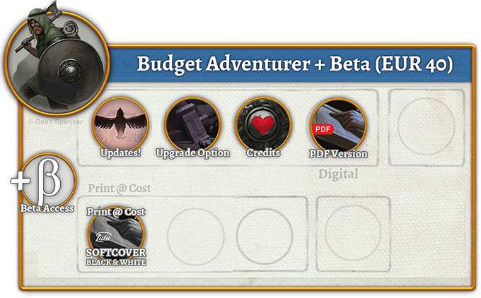 Budget Adventurer + Beta Rewards (40 EUR)