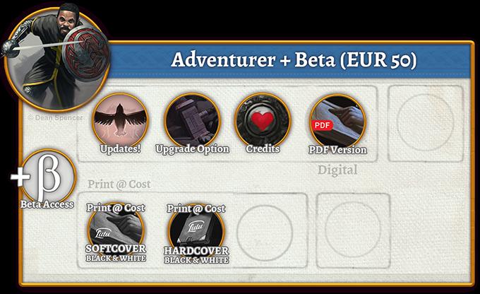 Adventurer + Beta Rewards (50 EUR)