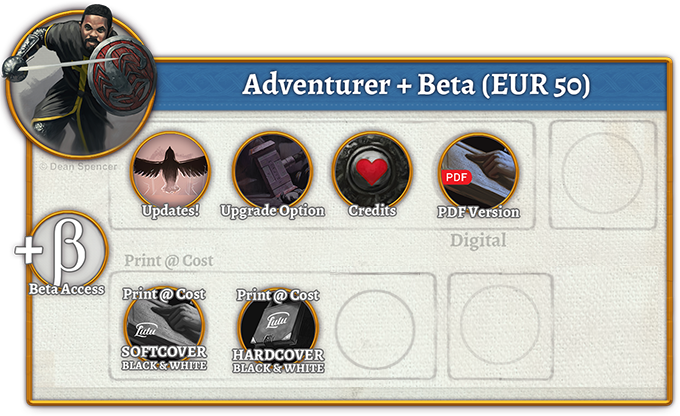 Adventurer + Beta Rewards (50 EUR)