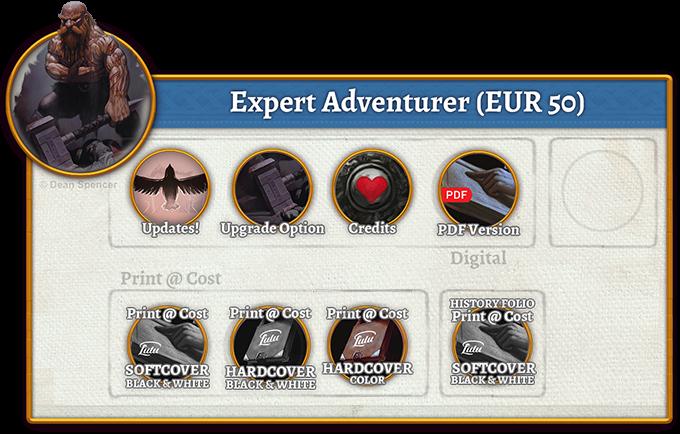 Expert Adventurer Rewards (50 EUR)