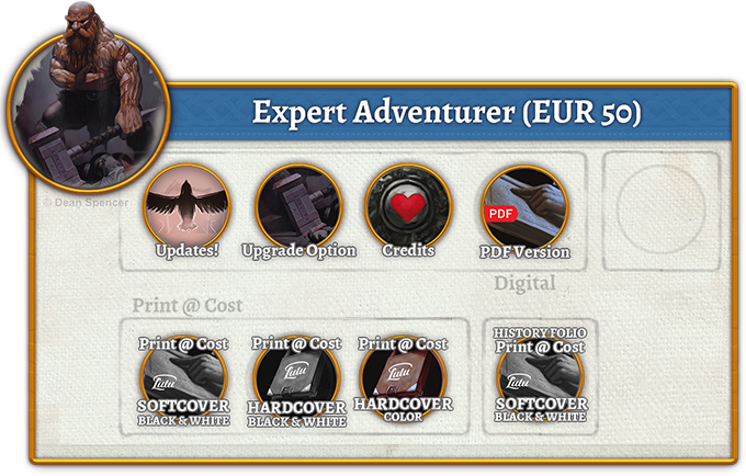Expert Adventurer Rewards (50 EUR)