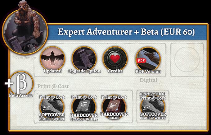 Expert Adventurer + Beta Rewards (60 EUR)
