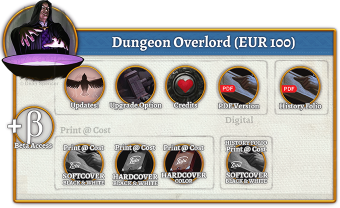 Dungeon Overlord Rewards (100 EUR)
