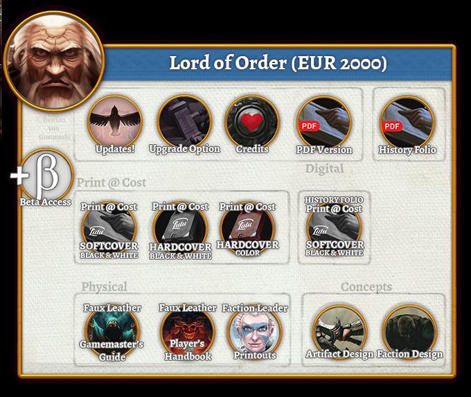 Lord of Order Rewards (2.000 EUR)