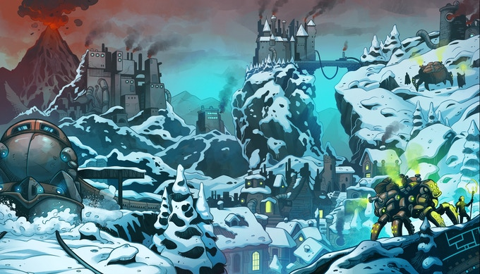 The frozen lands of Nuugard