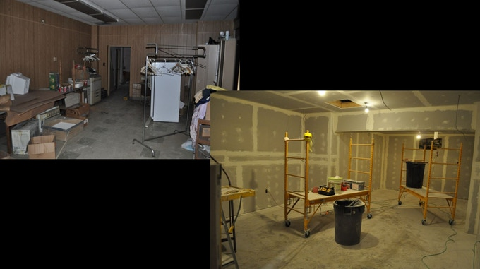 Wine Cellar Before and Current