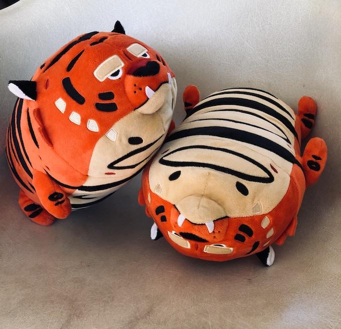 Chonk Friend Mega Tiger Plush By David Depasquale Kickstarter