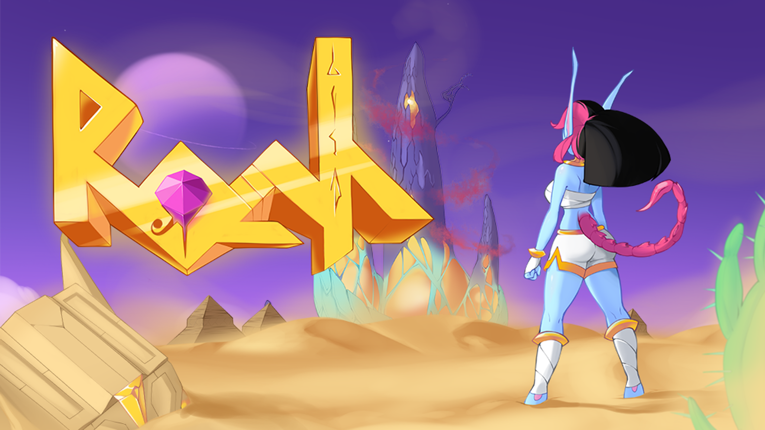 A challenging 2D platformer with fighting game elements. From the creator of Wings of Vi and I Wanna Be The Boshy.