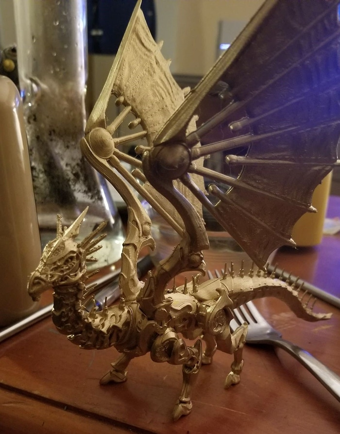 The Lost Dragons: 3D Printable Fantasy Dragons by Danny