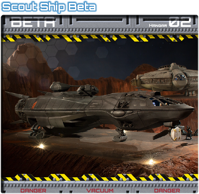 Hangar 02: Scout Ship Beta