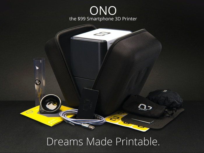 Get your ONO at ono3d.net ONO is portable, multimaterial and works via app. Easy for new users, and a must for pros!.