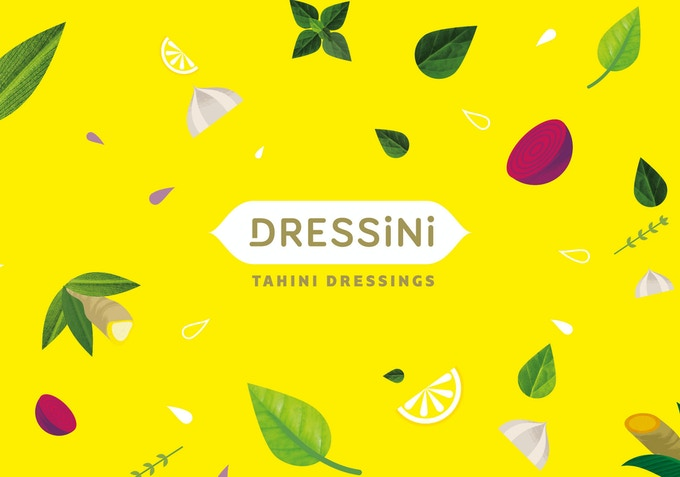 By creating our branding we wanted to be as vibrant, colourful and fun as our dressings.