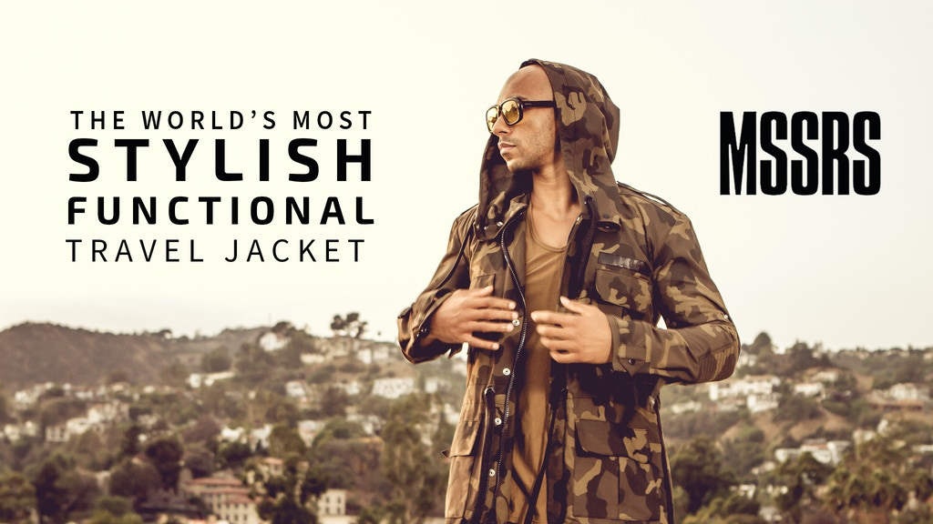 The Worlds Most Stylish Functional Travel Jacket project video thumbnail
