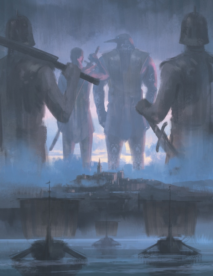 Lunars: Fangs at the Gate for Exalted 3rd Ed  by Richard Thomas
