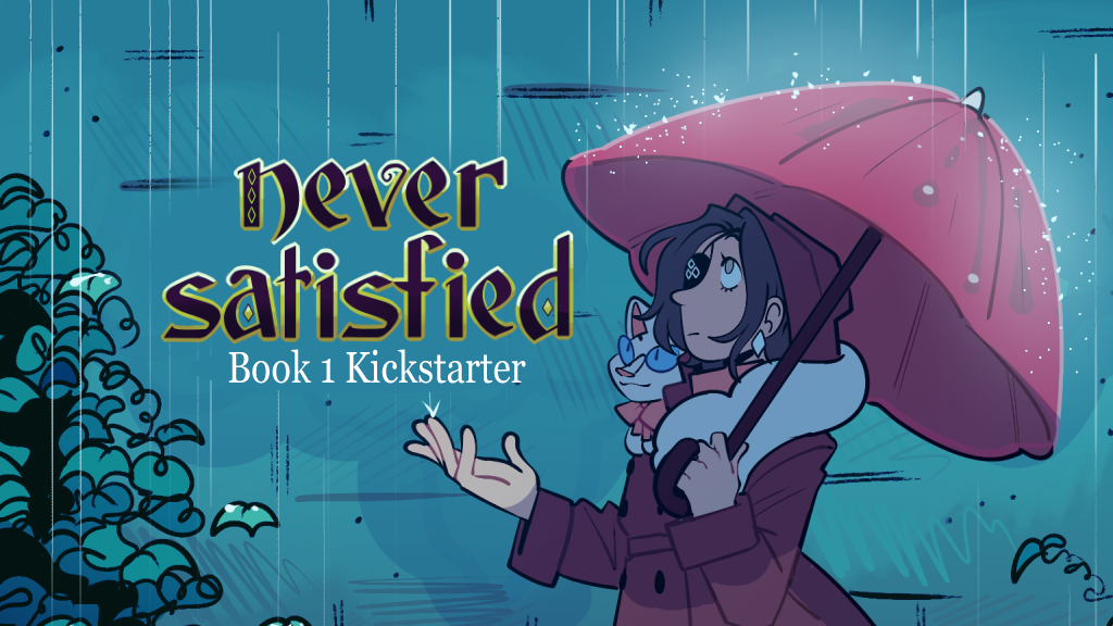 Never Satisfied Book 1 project video thumbnail