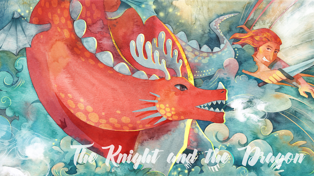 The Knight and the Dragon: A modern fairy tale project video thumbnail