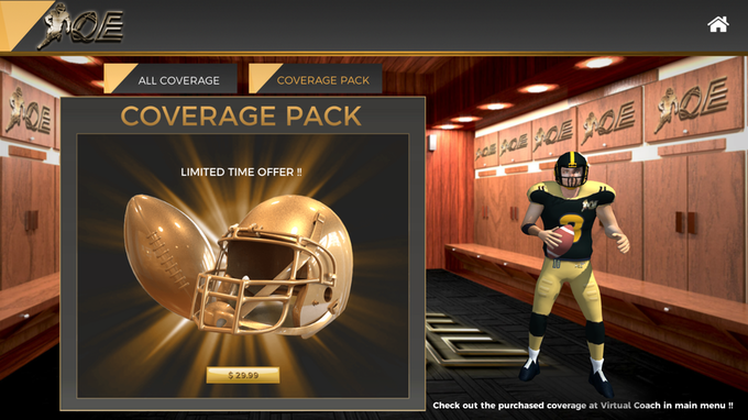 Purchase the entire Coverage Suite and learn the strengths of weaknesses of 26 pass coverages!