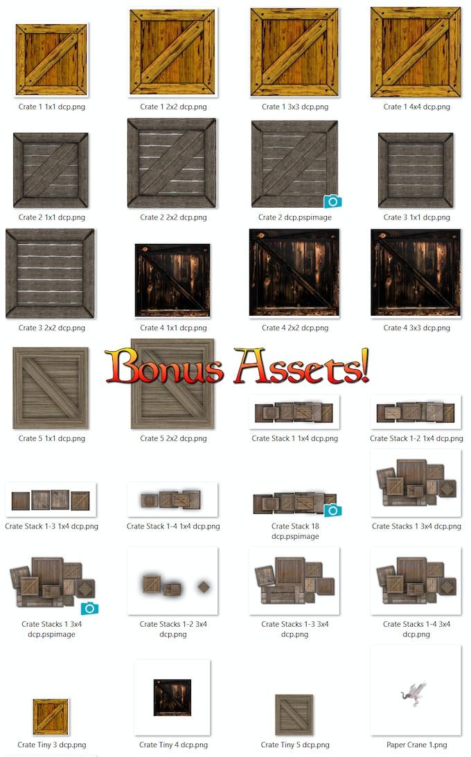 Bonus Art Pack!