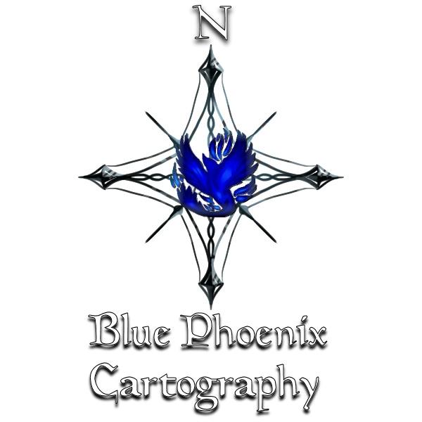 Blue Phoenix Cartography (logo)