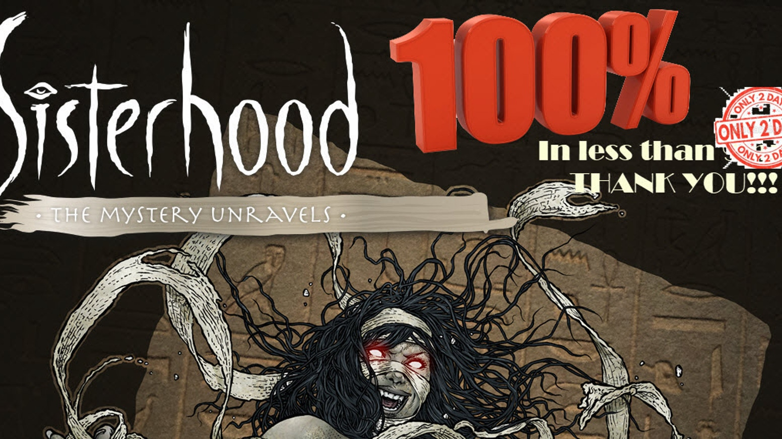 100 Limited Edition Sketch Covers of my comic, SISTERHOOD