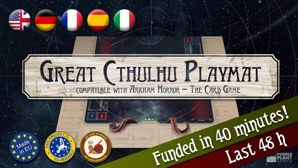 Cthulhu Playmat - compatible with Arkham Horror LCG project video thumbnail