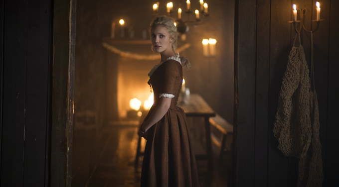Actress Breanne Hill is Mary - Frontier on Netflix