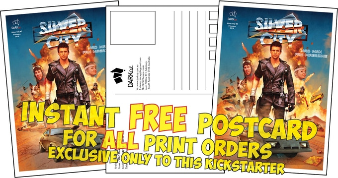 FREE exclusive postcard for ALL print orders