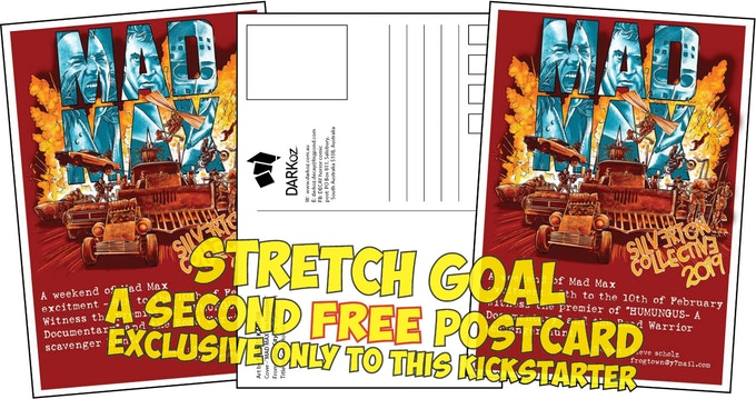 Stretch Goal - 2nd EXCLUSIVE postcard