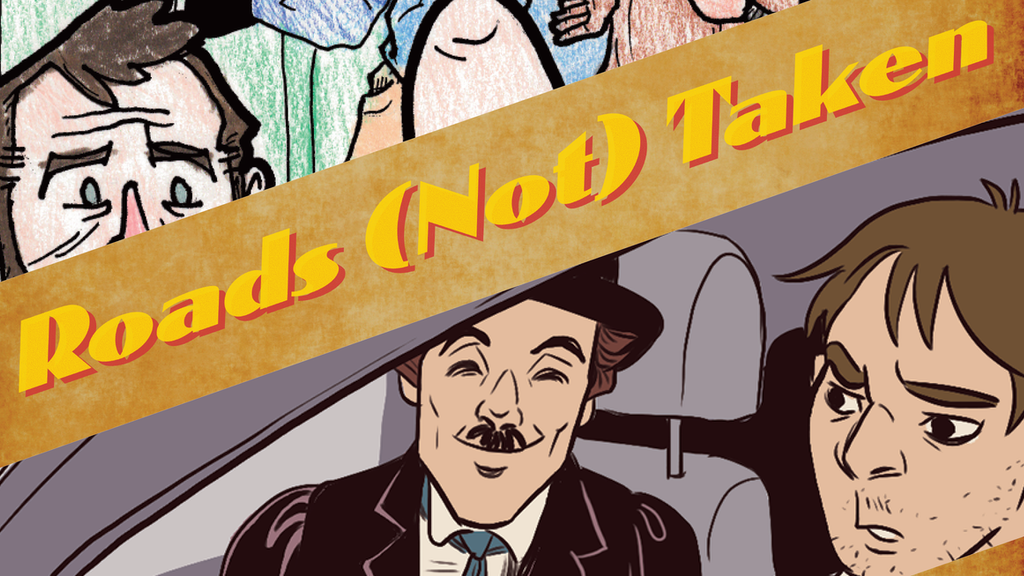 Roads (Not) Taken: A Comics Anthology of Traveling Tales project video thumbnail