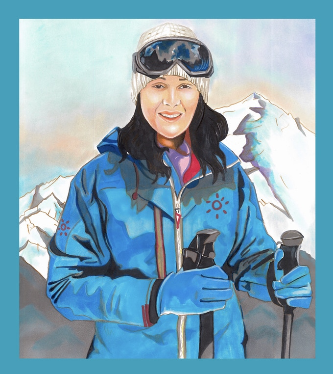 Samina Baig : First Pakistani Woman to climb mount Everest.