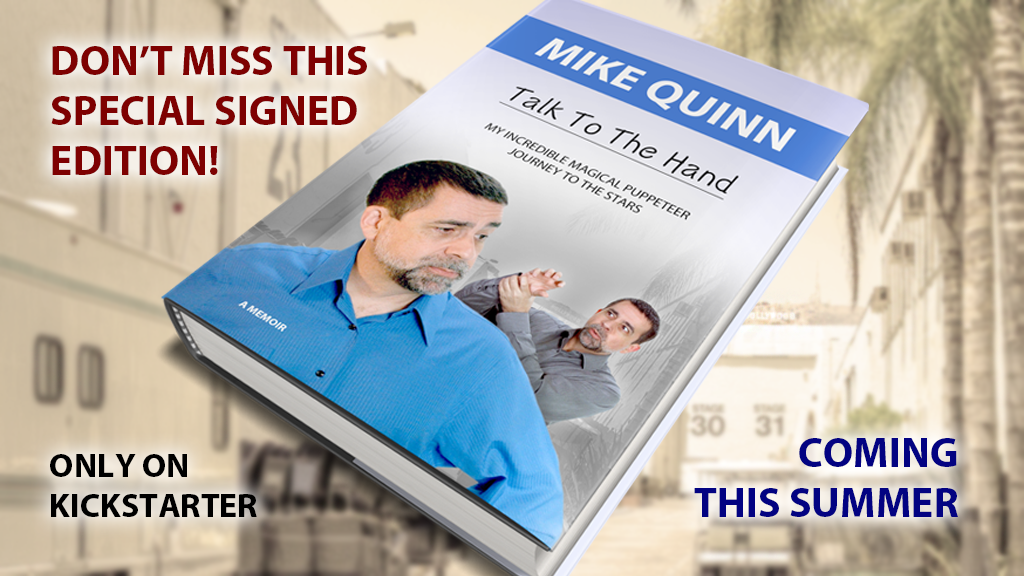 MIKE QUINN - Talk To The Hand project video thumbnail