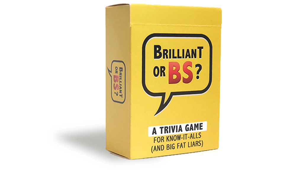 Brilliant Or BS project video thumbnail