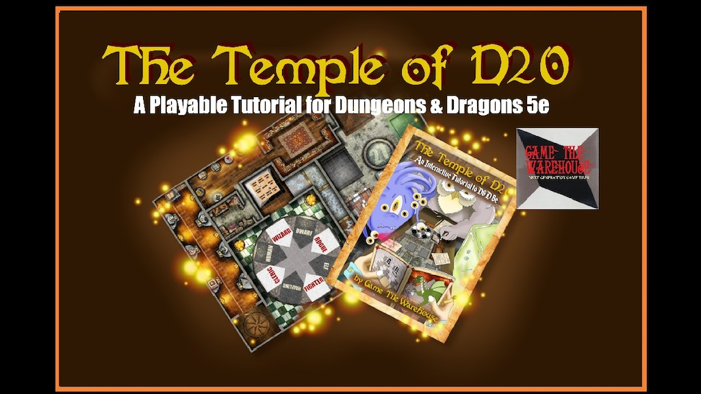 Project image for The Temple of D20