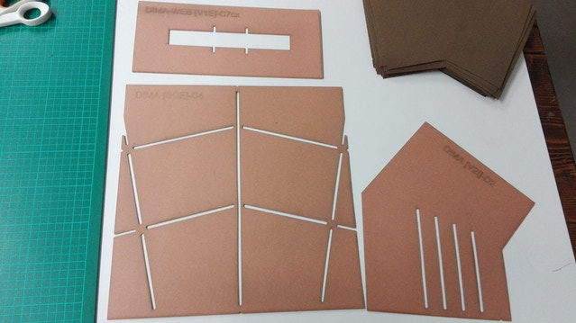 Templates for back panel stitching.
