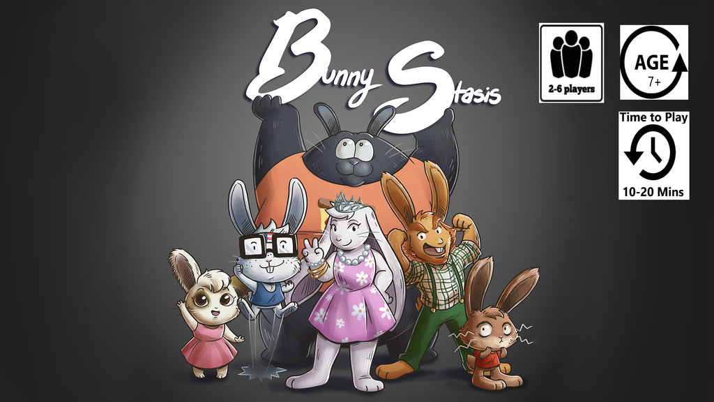 Bunny Stasis : A card game for friends and family project video thumbnail