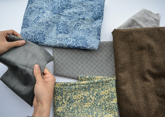 Selecting fabrics that go well with a diverse range of clothes