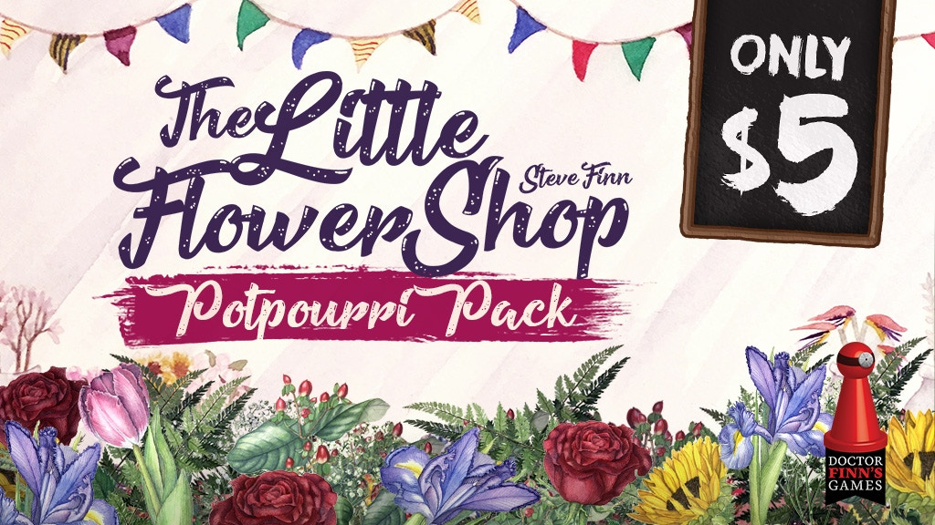 The Little Flower Shop Potpourri Pack project video thumbnail
