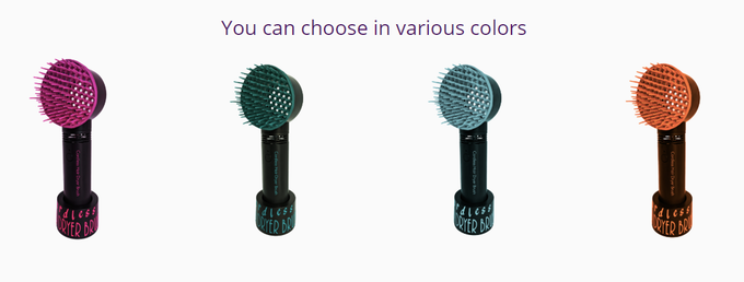 Choose the color of your Cordless Hair Dryer Brush