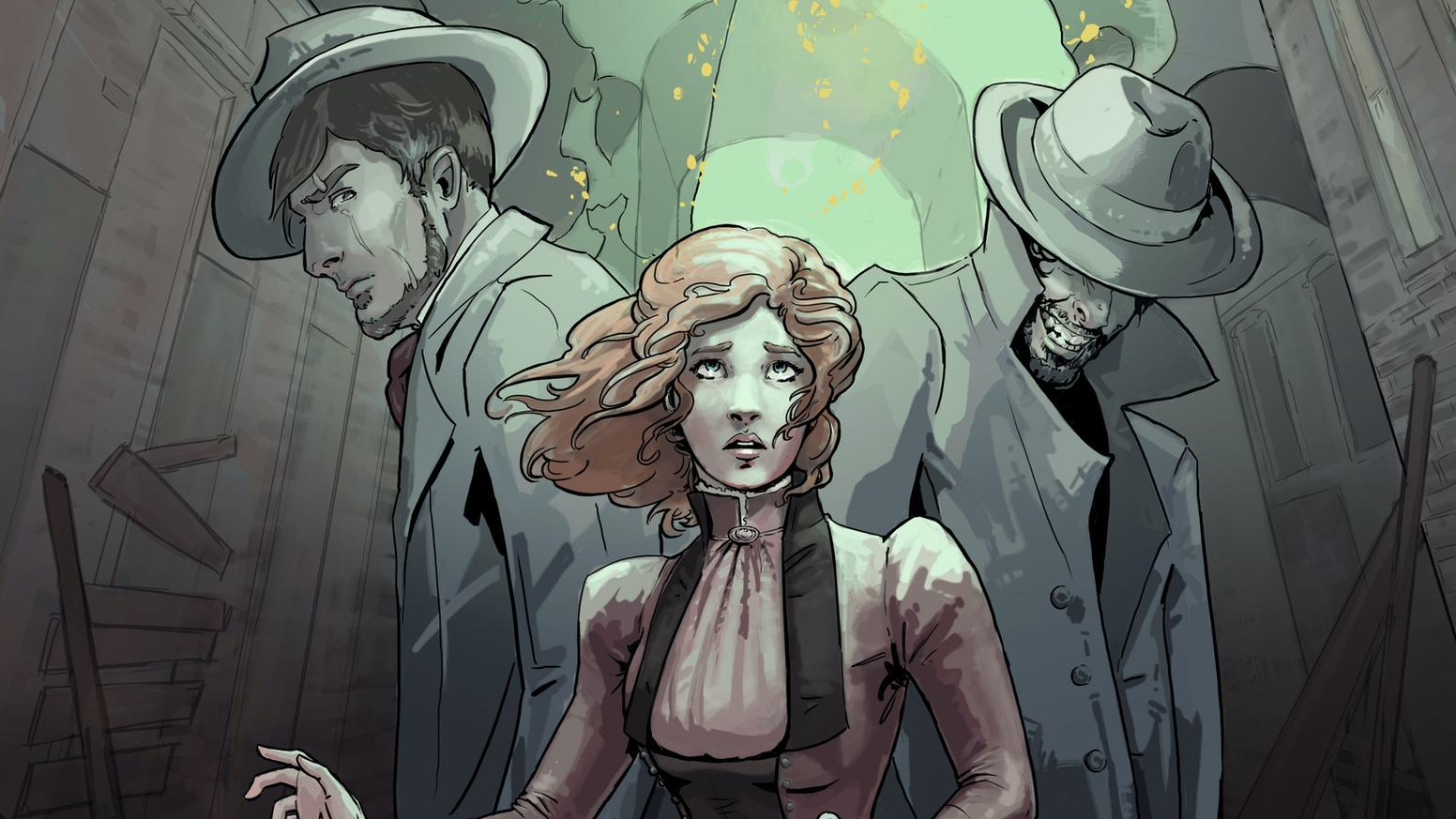 Ghosts! Steampunk! Oh my! Caitlin flees to Philadelphia only to discover a ghost, a rebellion, and perhaps, her destiny.