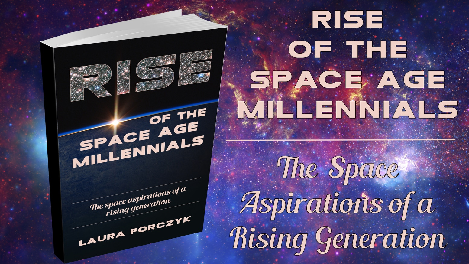 A book to tell the story of the space aspirations of a rising generation.