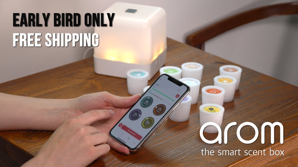 AROM: Beginner's Smart Gadget - Aromatherapy, Scent Layering project video thumbnail