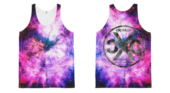 Galactic Energy Design, also available with a white logo on back (no map)