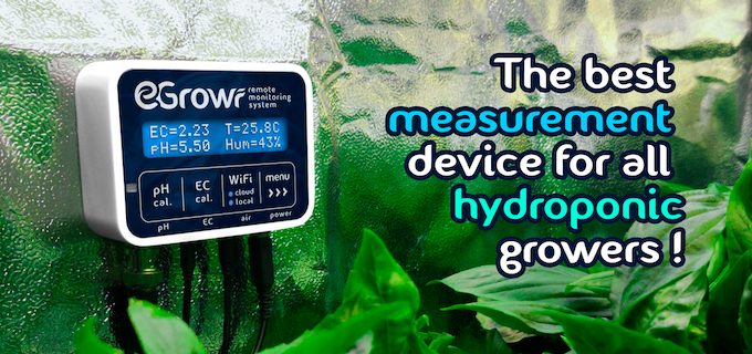 EGROWR - Connected hydroponic monitoring device by Lukasz