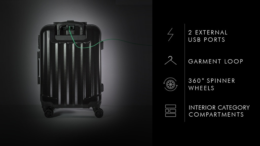 Genius Pack Supercharged: A Smarter Carry On Luggage project video thumbnail