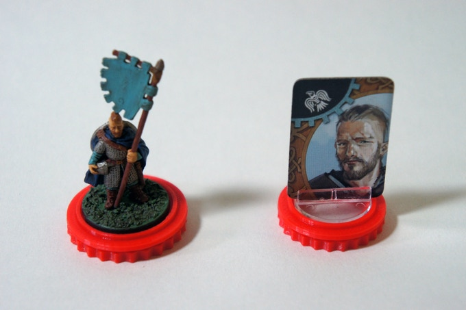Ring Tokens  with leaders on