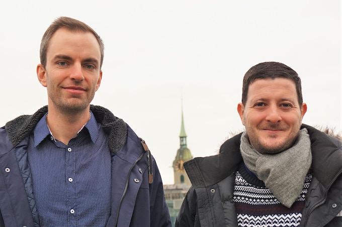 Roger Zahnd and Florian Kormann