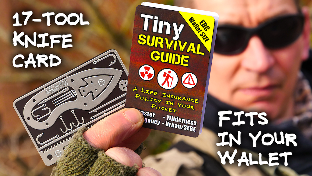 "The Ultimate ""Survive Anything"" Pocket Emergency Guide + Kit project video thumbnail"