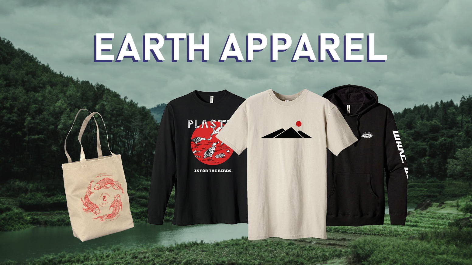 91448c610 A sustainable apparel collection featuring original designs centered around  nature and our relationship to it!